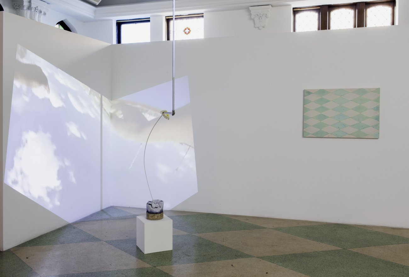 Documentation of art work as installed in the exhibition Mounting Tension at ACRE Projects