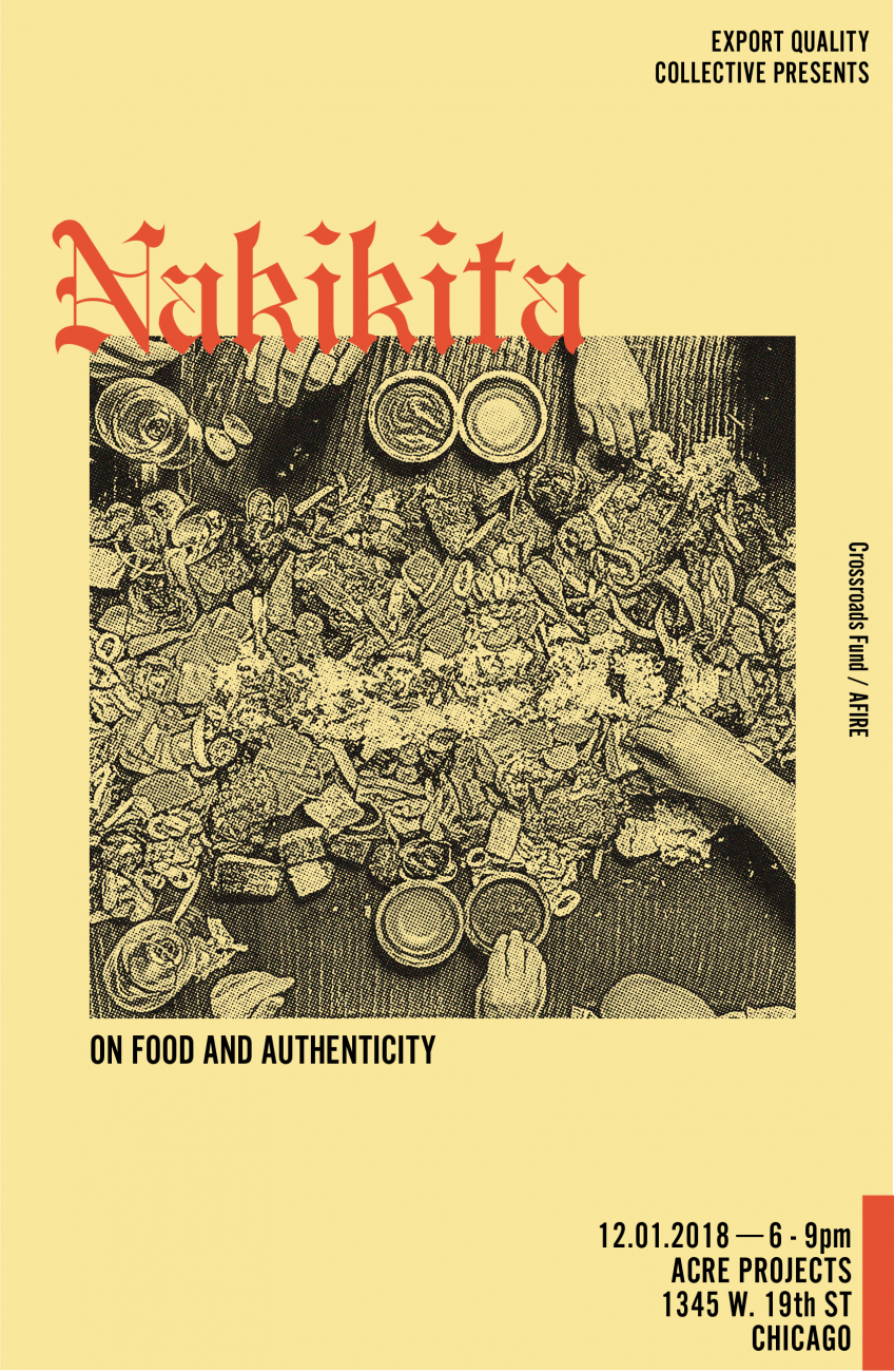 Poster design for Nakikita by Export Quality